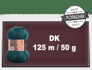 DK fonalak 125 méter / 50 gramm