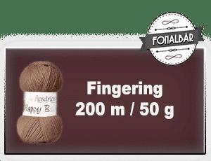Fingering fonalak 200 méter / 50 gramm