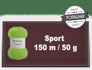 Sport fonalak 150 méter / 50 gramm