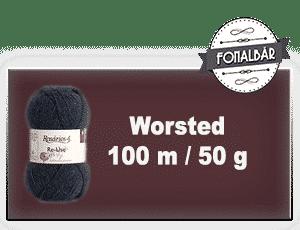Worsted fonalak 100 méter / 50 gramm